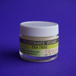Desodorante vengano árbol de té – Tánika