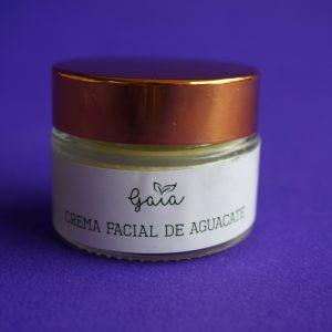 Crema facial de aguacate ultra hidratante- Gaia