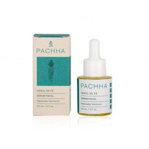 Serum facial nocturno Árbol de té – Pachha