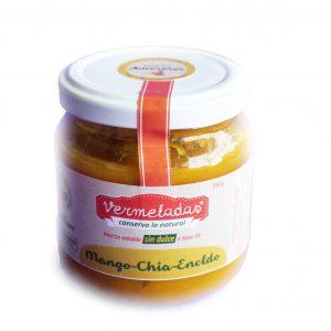 Mezcla untable de Mango, Chia, Eneldo – Vermeladas