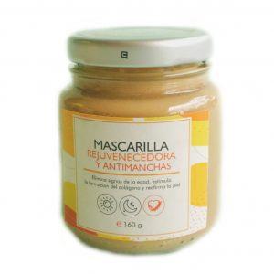 Mascarilla rejuvenecedora y antimanchas -Botánica
