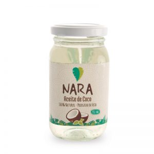 Aceite de coco 100 % natural 230 mL – NARA