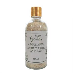 Exfoliante de avena y arroz en polvo – Gaia