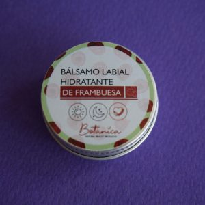 Balsamo labial de frambuesa -Botánica
