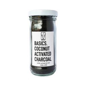 Basics. Carbón activado de cáscara de coco. 133ml -Simple As!