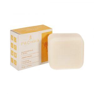 Jabón facial de manzanilla y miel – Pachha