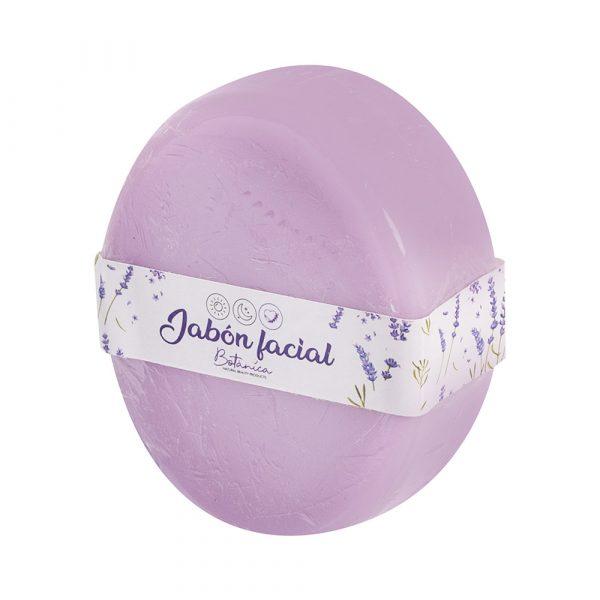 Jabón facial para pieles secas de lavanda