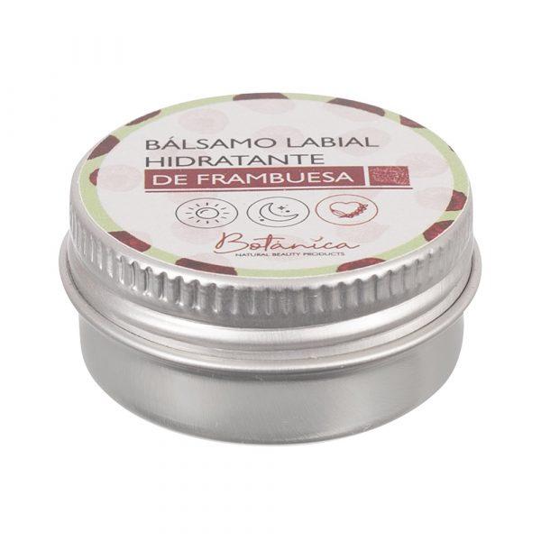hidratante labial de frambuesa Botanica Ecomuwa