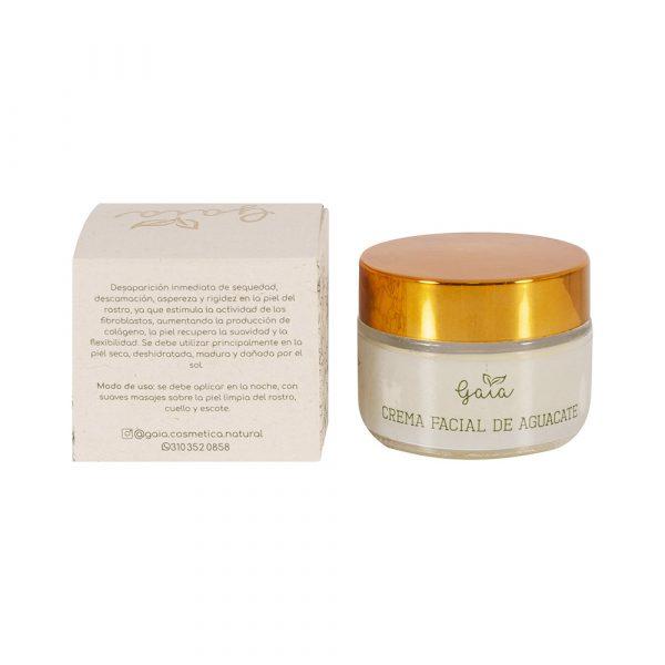 Crema facial de aguacate
