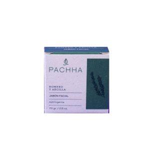 Jabon facial de romero y arcilla – Pachha