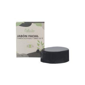 Jabón facial carbón activado & árbol de té -Botánica