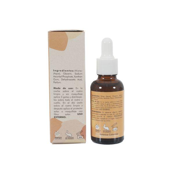 Serum facial de vitamina C